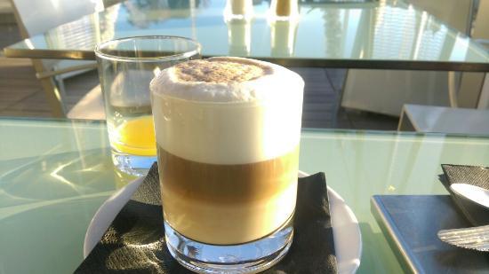 Hotel Valadier: Order any kind of coffee u like at breakfast.