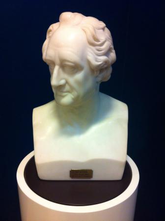Goethe Museum: Sculpture of Goethe