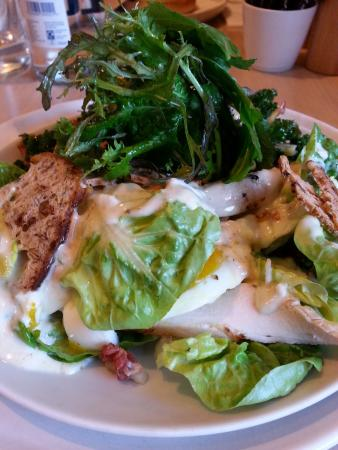 Chicken Caesar Salad At Daylesford Farm Restaurant Picture Of