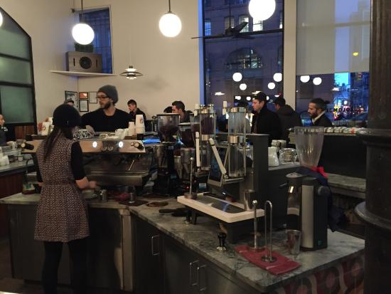 Photo of Coffee Shop La Colombe at 400 Lafayette, New York, NY 10003, United States