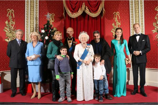 The Royal Family in Madame Tussauds London