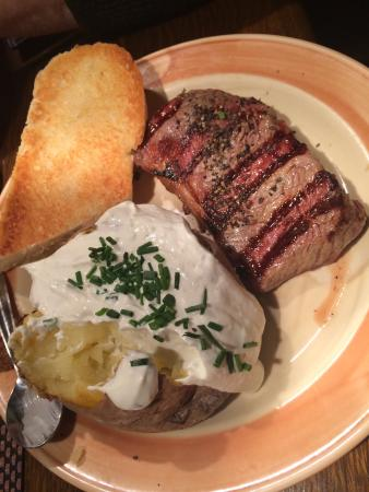 Farmer's: Ribay steak with baked potato