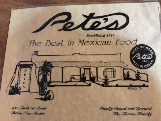 Petes Cafe Belen Menu Prices Restaurant Reviews Tripadvisor