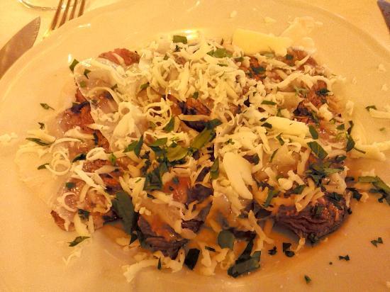 Fonte Alla Vena : Tagliata con lardo e pecorino