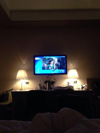 Grand Hotel Europa: Particolare camera.