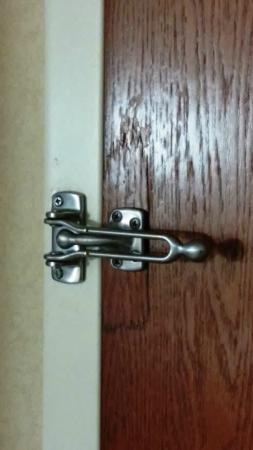 Comfort Suites : Repaired Bolt Lock on Door
