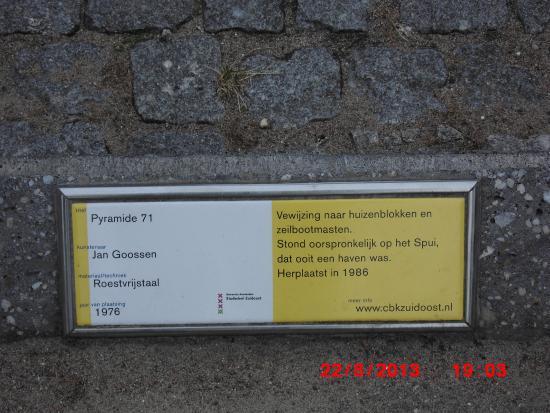Gaasperplas Park: can  read it? ;)
