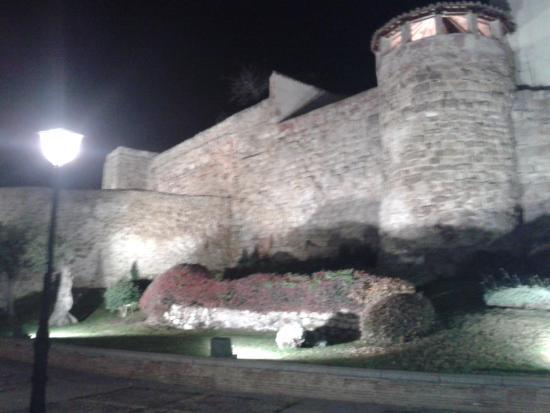 Jardín el Huerto de Calixto y Melibea: sobre la muralla