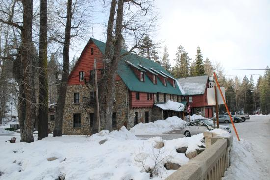 Soda Springs, CA: Exterior of the Lodge