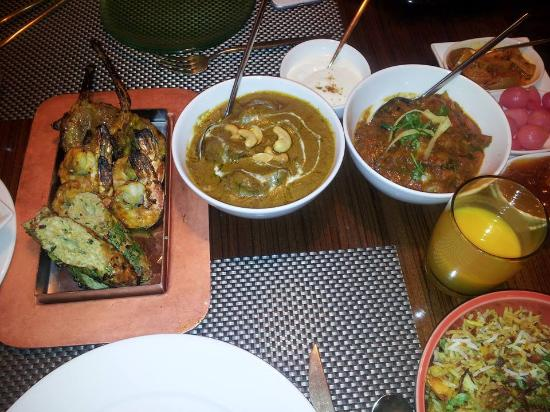 Indira Indian Restaurant: The main course