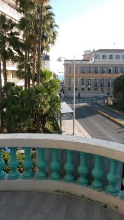 Hotel Carlone: Questo è il terrazzo della camera dove ho soggiornato!