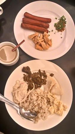 Manila Grand Opera Hotel : Breakfast plate