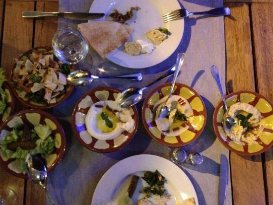 Restaurant Farid: Mezze