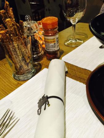 Restaurant Gondolezza: Set