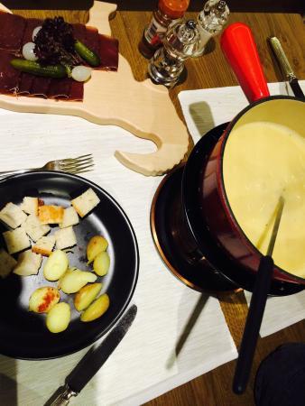Restaurant Gondolezza: Fondue