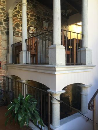 Hotel Posada Placida Antigua: Área desayuno y sala estar