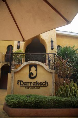 Sheik Istana Hotel : Restaurant Marrakech