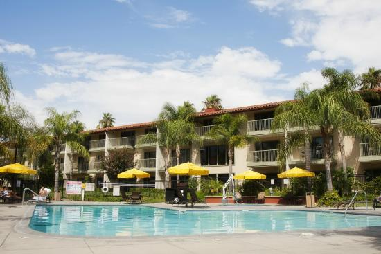 beautiful pool area picture of doubletree by hilton. Black Bedroom Furniture Sets. Home Design Ideas