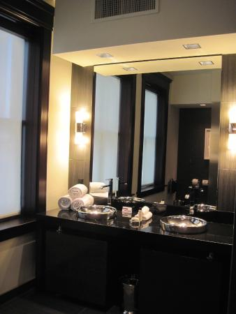 Bathroom Sinks Dallas bathroom vanity, double sink - picture of the joule, dallas