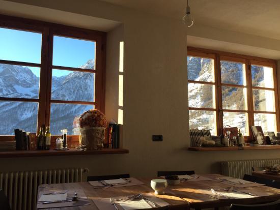 La Scuola di Chiappera : La sala ristorante