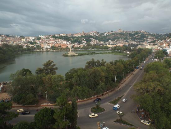 Hotel Carlton Antananarivo Madagascar: View from room