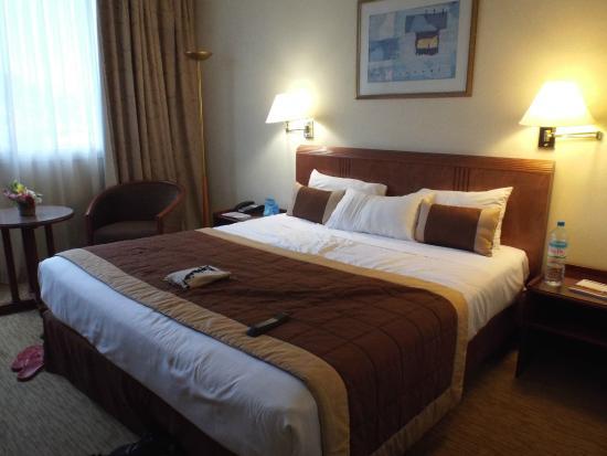 Hotel Carlton Antananarivo Madagascar : The room