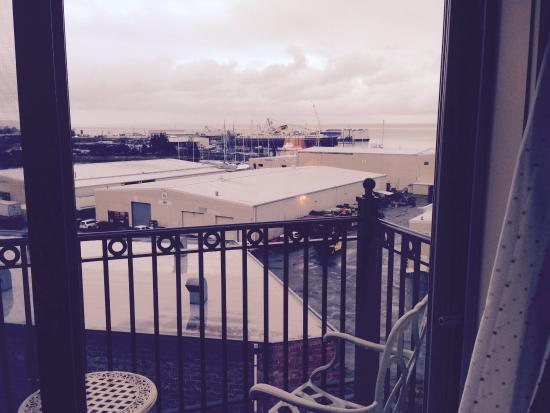 Fairhaven Village Inn: View toward the water