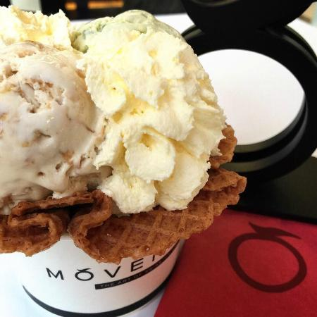 Movenpick at Vanilla Moon, Ice Cream Parlour: Choice of 14+ flavours with toppings and from our menu!