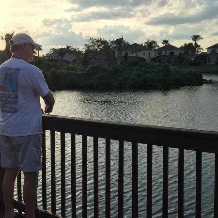 Hapimag Resort Orlando: Fishing at nearby Lake Berkley