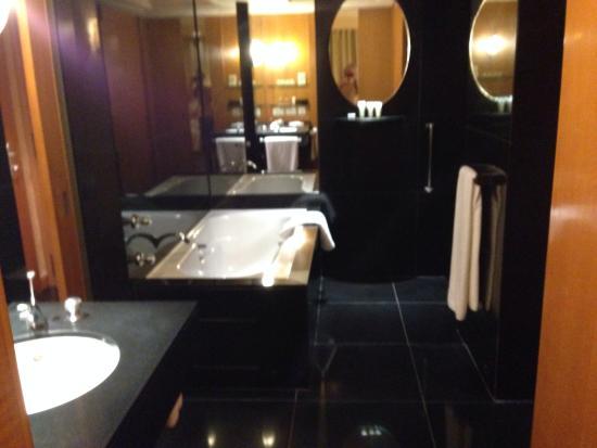 The Grand New Delhi: Lovely bathroom