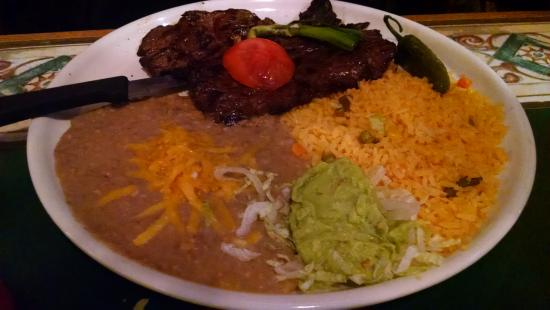 Tequila's Family Mexican Restaurant: Carne Asada