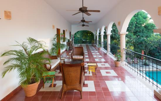 Hotel Posada San Juan: Terraza superior