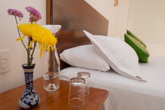 Hotel Posada San Juan: Cama habitación