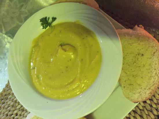 Miracle's South Coast Restaurant & Bar: Pumpkin soup