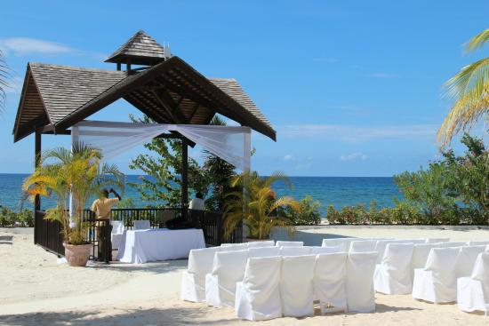 Secrets Wild Orchid Montego Bay Wedding On The Beach