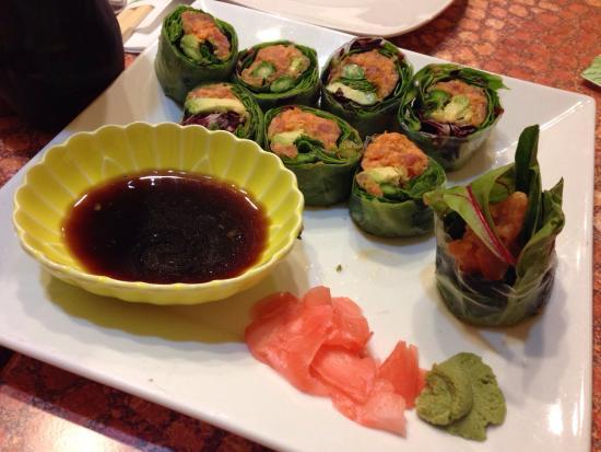 SoBaya Japanese Bistro: Spicy Tuna Rolls  So fresh and light!