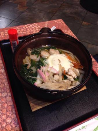SoBaya Japanese Bistro: Udon noodle soup