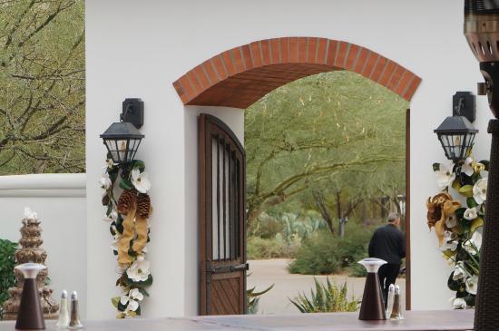 El Chorro: Front entrance