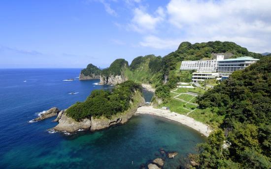 西伊豆町, 静岡県, 西伊豆堂ヶ島の絶景。都内から3時間のダイナミックリゾート