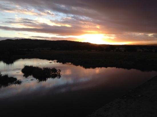 Ross Bridge: 夕陽