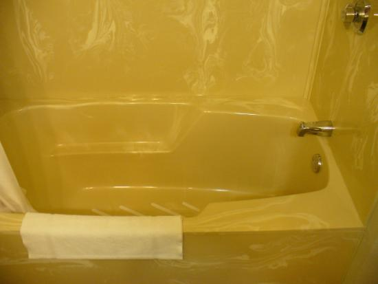 Quality Inn: shower/bath