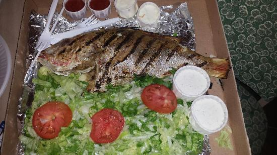 Dirty Al's : Grilled Red Snapper
