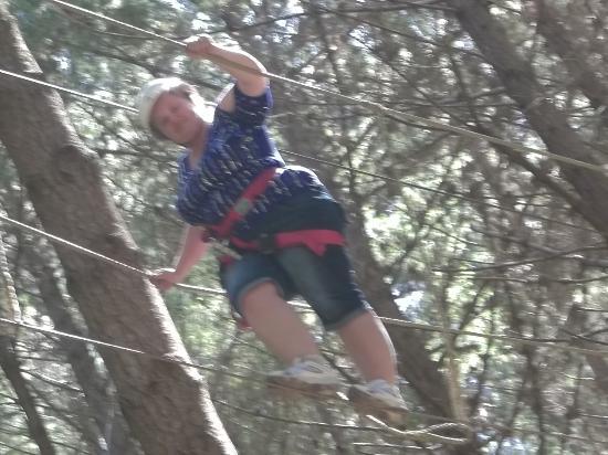 Adventure Forest : wire walking
