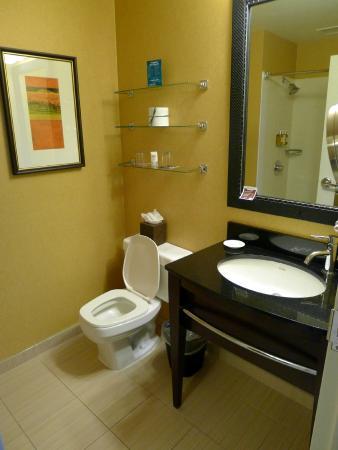 Bathroom, room 609