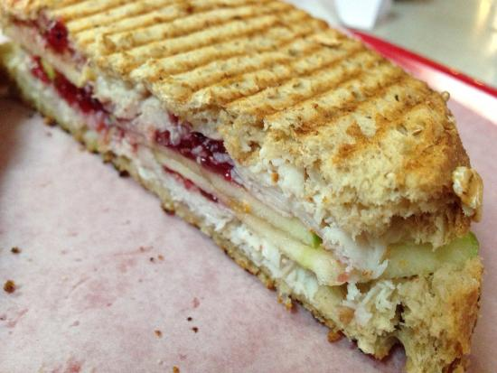 Chops Deli: Yummy turkey and cranberry relish