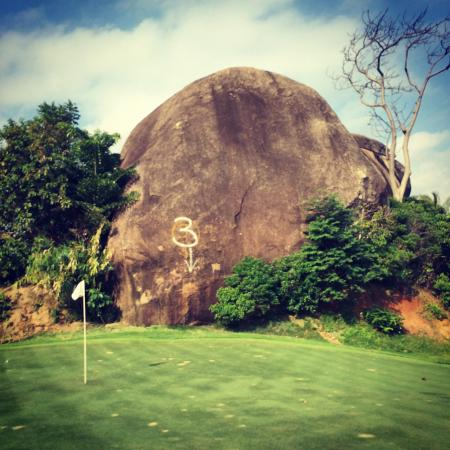 Royal Samui Golf and Country Club: Hole no.3
