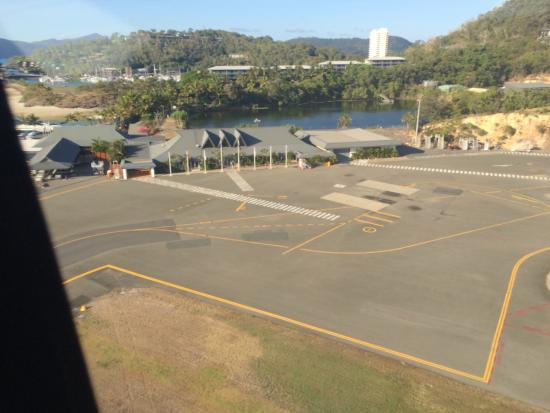 Hamilton Island Air: The airport