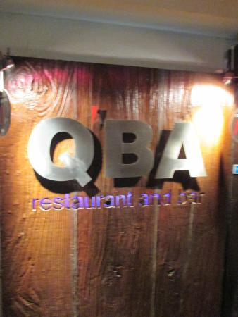 QBA Bar and Lounge : Eingangsbereich