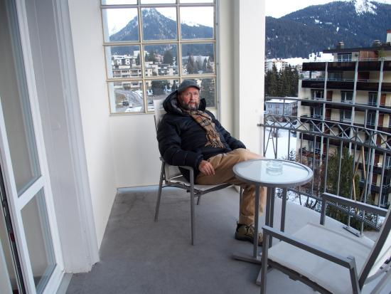 Steigenberger Grandhotel Belvedere: Veranda