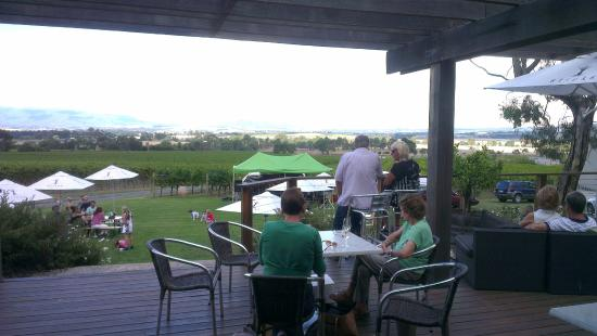 Sticks Winery: From the balcony